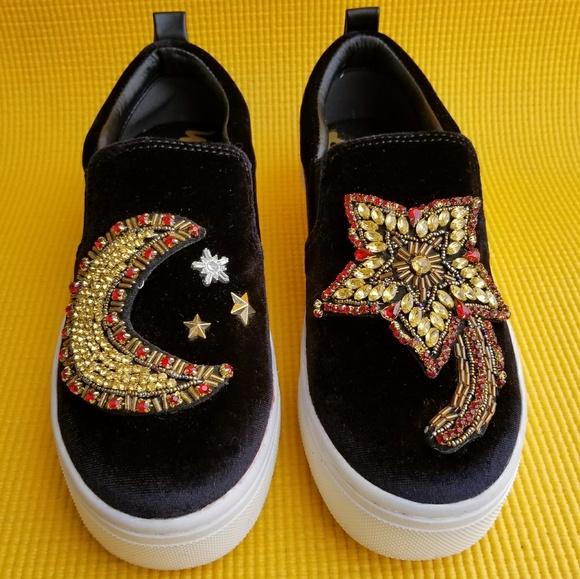 Leila Embellished Platform Sneaker